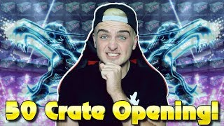 OPENING 50 NEW VELOCITY CRATES IN SEARCH OF THE DUELING DRAGONS GOAL EXPLOSION!