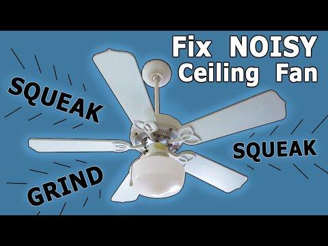 Fix A Noisy Ceiling Fan Oil Bearings