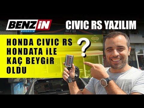 VLOG // Honda Civic RS yazılım ile kaç beygir oluyor?