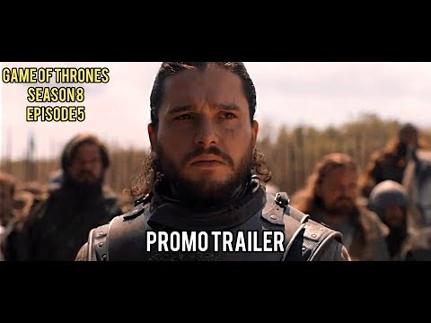 Игра Престолов / Game Of Thrones | 8 сезон 5 серия - Промо-трейлер (2019) Джон Сноу