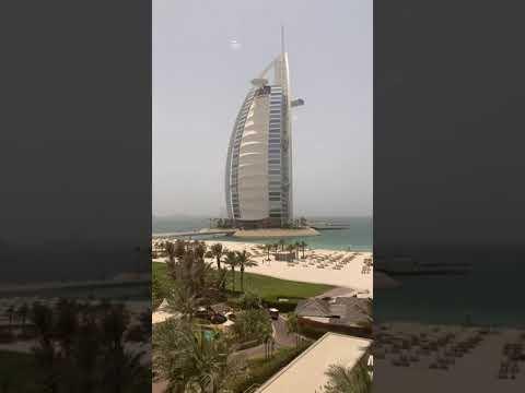 Spectacular View of the iconic Burj Al Arab, Dubai