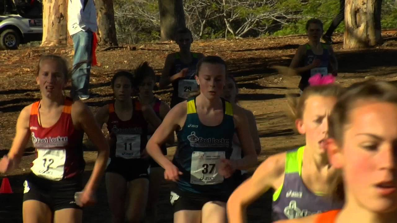 b20fe9143d964 2015 Foot Locker Cross Country Girls National Championship - YouTube