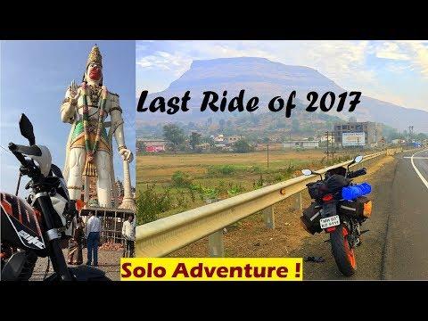 A Dangerous Way to Home | Mumbai To Akola | 600Kms Solo Ride Adventure | WanderSane