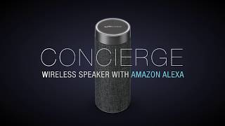Concierge: Wireless Speaker with Amazon Alexa by iLive (ISWFV387G)