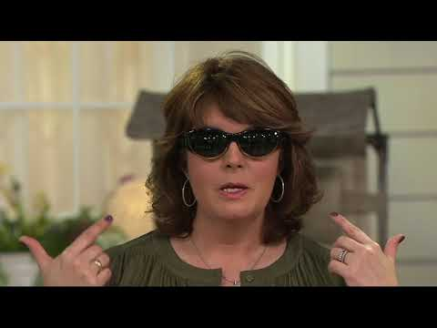 Jonathan Paul Ali Cat Fitover Sunglasses with Case on QVC