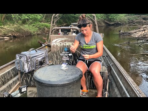 Setting Trot Lines & Bush Hooks For Catfish And Gar During The Quarantine PART 1