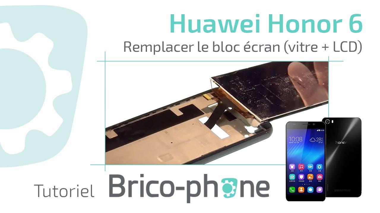 Tutoriel Huawei Honor 6 Remplacer Le Bloc écran Vitrelcd Hd