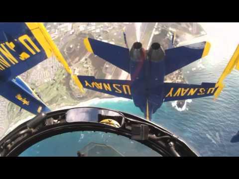 Blue Angels Aerial Stunts - Inside Look