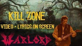 Warlord - Kill Zone (video + lyrics on screen)