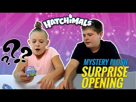 Hatchimals Mystery Minis Plush Egg | Unboxing Blind Bags Kids Toy Reviews