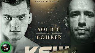 KSW 46 - Roberto Soldic vs Vinicius Bohrer