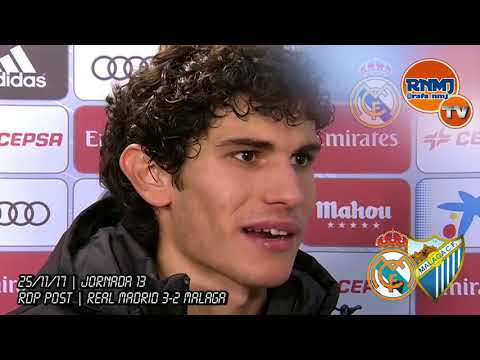 Declaraciones de VALLEJO post Real Madrid 3-2 Málaga (25/11/2017)