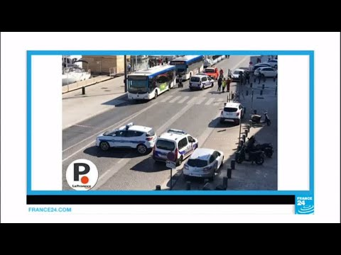 Marseille: One killed after car crashes into bus shelters