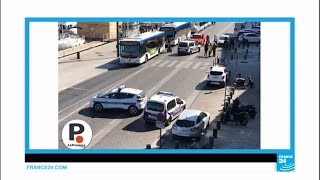 Marseille  One killed after car crashes into bus shelters