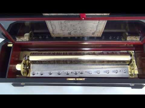 J Heller of Bern: Antique Mandoline Music Box