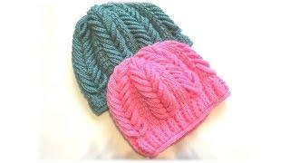 Шапочка крючком для начинающих/crochet hat