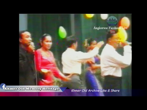 Khmer old concert TV   -The world Of music Old Khmer video vol 1 - VHS Khmer old-