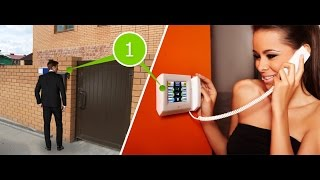Установить видеоглазок, видеодомофон, видеонаблюдение(, 2015-08-07T04:07:10.000Z)