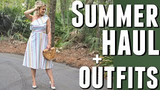 SUMMER HAUL + OUTFITS!
