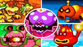 Mario & Luigi: Partners in Time - All Bosses (No Damage)