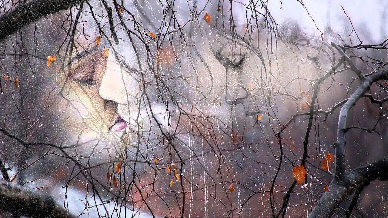осень дождь любовь картинки