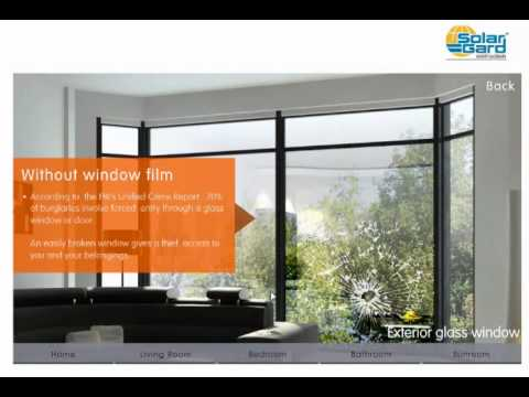 Solar Gard Window Film At Work In Your Home Youtube