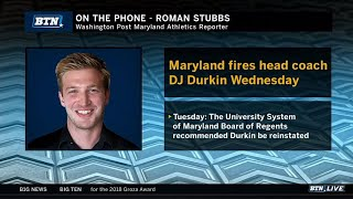 Roman Stubbs Talks DJ Durkin Firing | Maryland | Big Ten Football