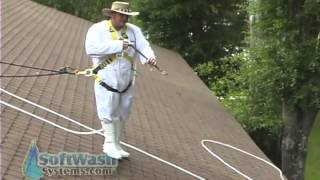 Proper Roof Cleaning / Spraying Techniques.