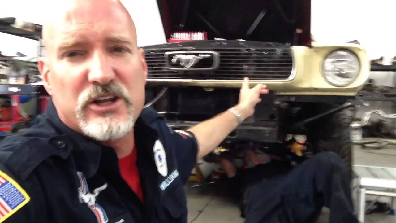 New Flex Plate install Peter's 1966 Mustang Coupe - Day 40