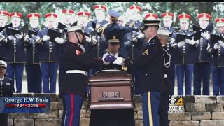 President Bush Laid To Rest In College Station, Texas