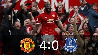 манчестер Юнайтед - Эвертон 4-0 Обзор матча 17.09.2017