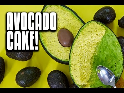 How To Make A GIANT AVOCADO out of CAKE with SURPRISE INSIDE Chocolate Pit!