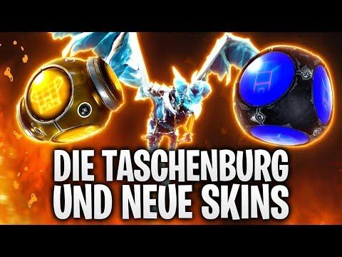 DIE TASCHENBURG UND NEUE SKINS! 🏰   Fortnite: Battle Royale