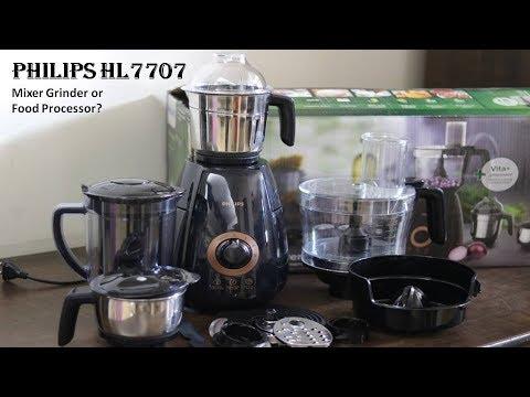 Philips Mixer Grinder HL7707 Unboxing - Best Mixer Grinder Or Food Processor?