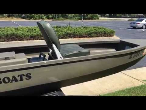 Quick Tour Of My CREEK BOATS Fishing Boat