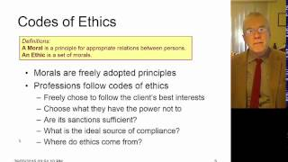 Professional Ethics 01 Introduction