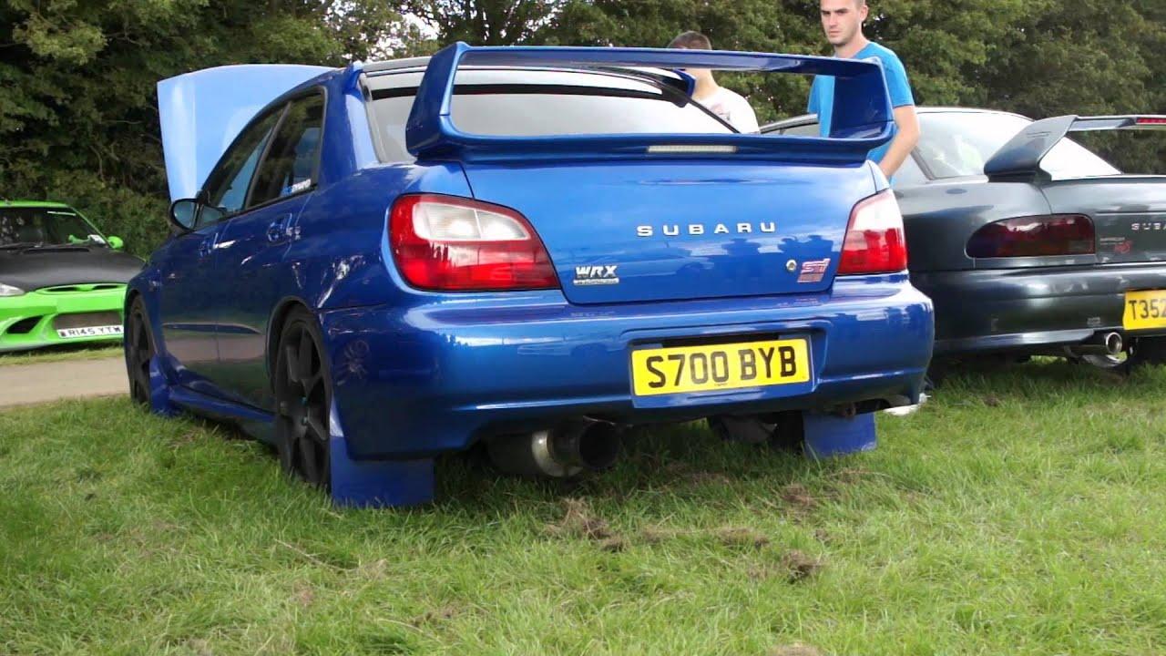 Subaru Impreza Wrx Sti Anti Lag Bugeye Youtube