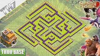 NEW Town Hall 7 Troll Base with REPLAY 2019   TH7 base with COPY LINK - Clash of Clans