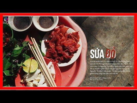 Đầu mùa thưởng thức sứa đỏ Hải Phòng mát lịm của gánh hàng rong ruổi 70 năm quanh phố cổ - Quỳnh ...
