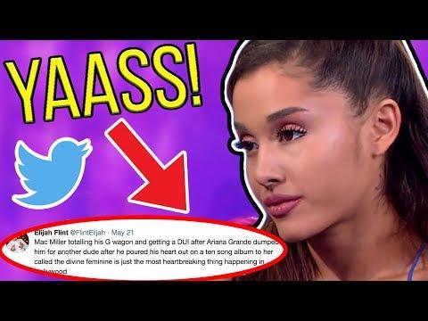 Ariana Grande Destroys Sexist Troll with One Tweet