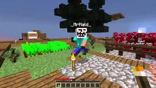 КУРИЦА, СМОТРЯЩАЯ ВДАЛЬ - Minecraft Skyway Island Survival 05