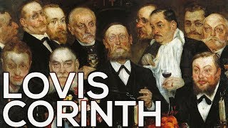 Lovis Corinth: A collection of 146 paintings (HD)