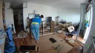 Building Ikea Furniture (hemnes) - Timelapse