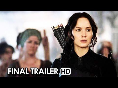 The Hunger Games: Mockingjay Part 1 Final Trailer 'Burn' (2014) - Jennifer Lawrence HD