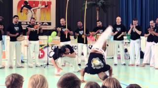 Capoeira Schule Candeias Schweiz Präsentiert 3. Capoeira Festival in die region Bern .