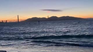 Golden Gate Sunset View