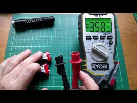 9v Battery Capacity and Internal Resistance Checks
