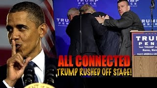 TRUMP Assassination Attempt HOAX? Did u know Trump, Hillary, & Obama Connected? Must SEE!