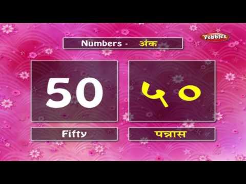 Learn Marathi Numbers   Learn Marathi Through English   Learn Marathi Grammar For Beginners