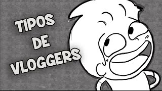 TIPOS DE YOUTUBERS -  VLOGGERS | DRAW MY LIFE LA SERIE